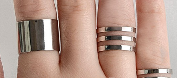 3Pcs/set Fashion Rings # 25700
