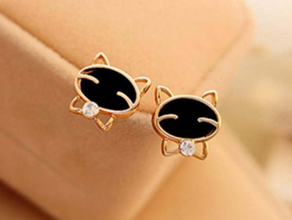 Cute Kitty Earrings # 13728