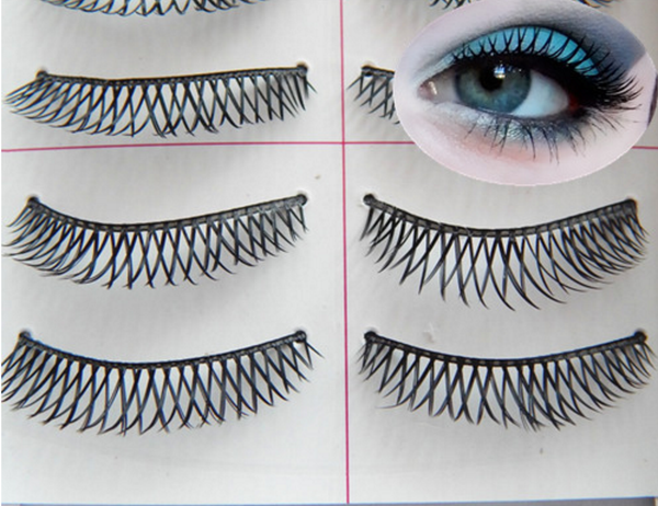 False Net Eyelashes W/Applicator + Glue # 862