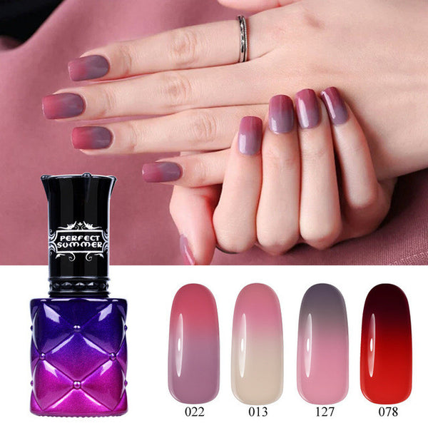 Nail Gel Polish Chameleon Temperature Change Color UV Gel Polish PSWB014#4