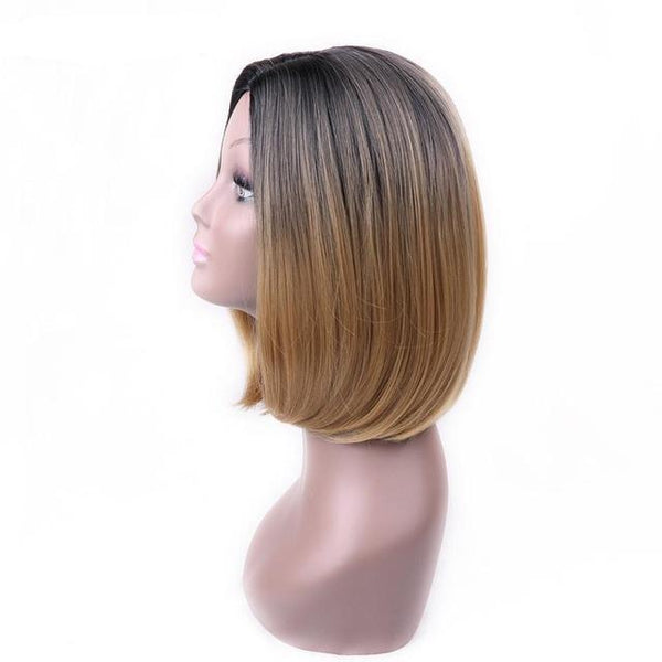 High-Temperature Synthetic Wig