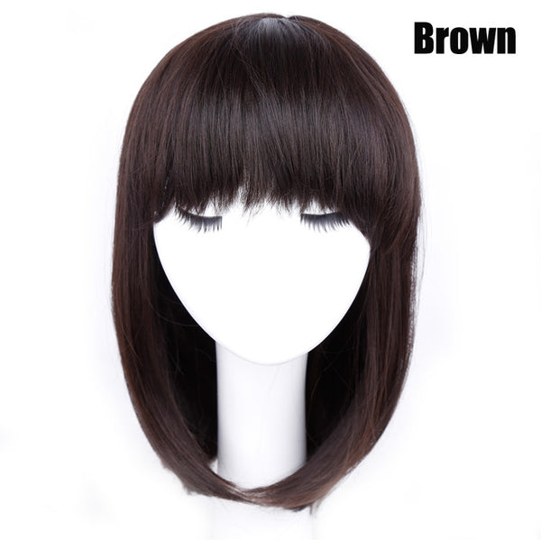 Black Bob Wig - Synthetic Hair