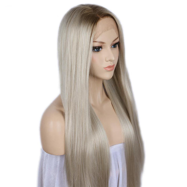 Synthetic Lace Front Wig - Heat Resistant-Fiber