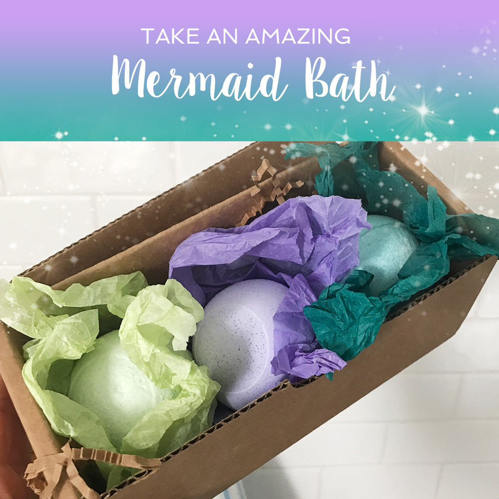 Making a Mermaid Bath