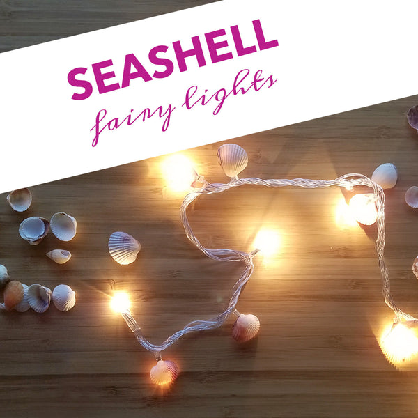 low priced 0c4fd 43a6d Seashell Fairy Lights DIY – Seatail