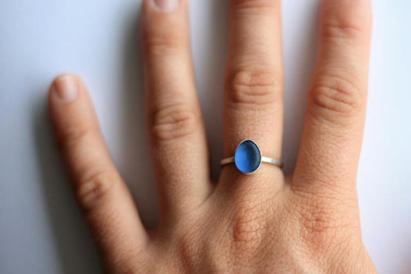My Favorite Seaglass Ring