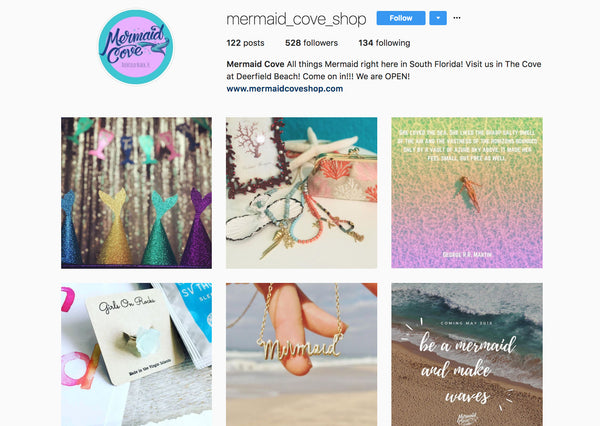 Mermaid Cove Instagram