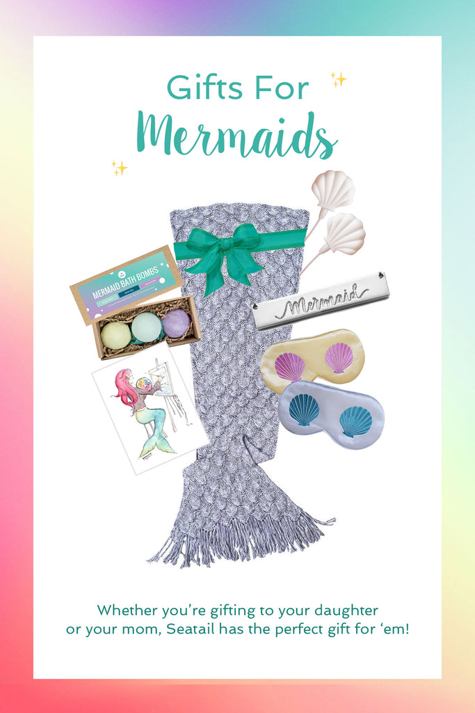 Gifts for Mermaids of all ages! What do mermaids want? Check out Seatail!