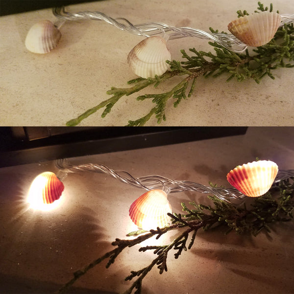 Mermaid Lights on and off Seashell lights DIY