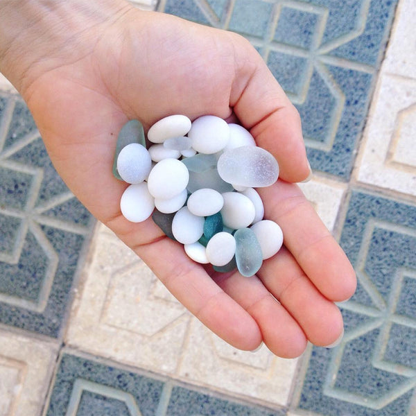 Seaglass found in Spain
