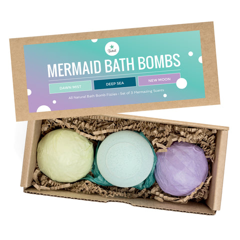 Mermaid Bath Bomb Set