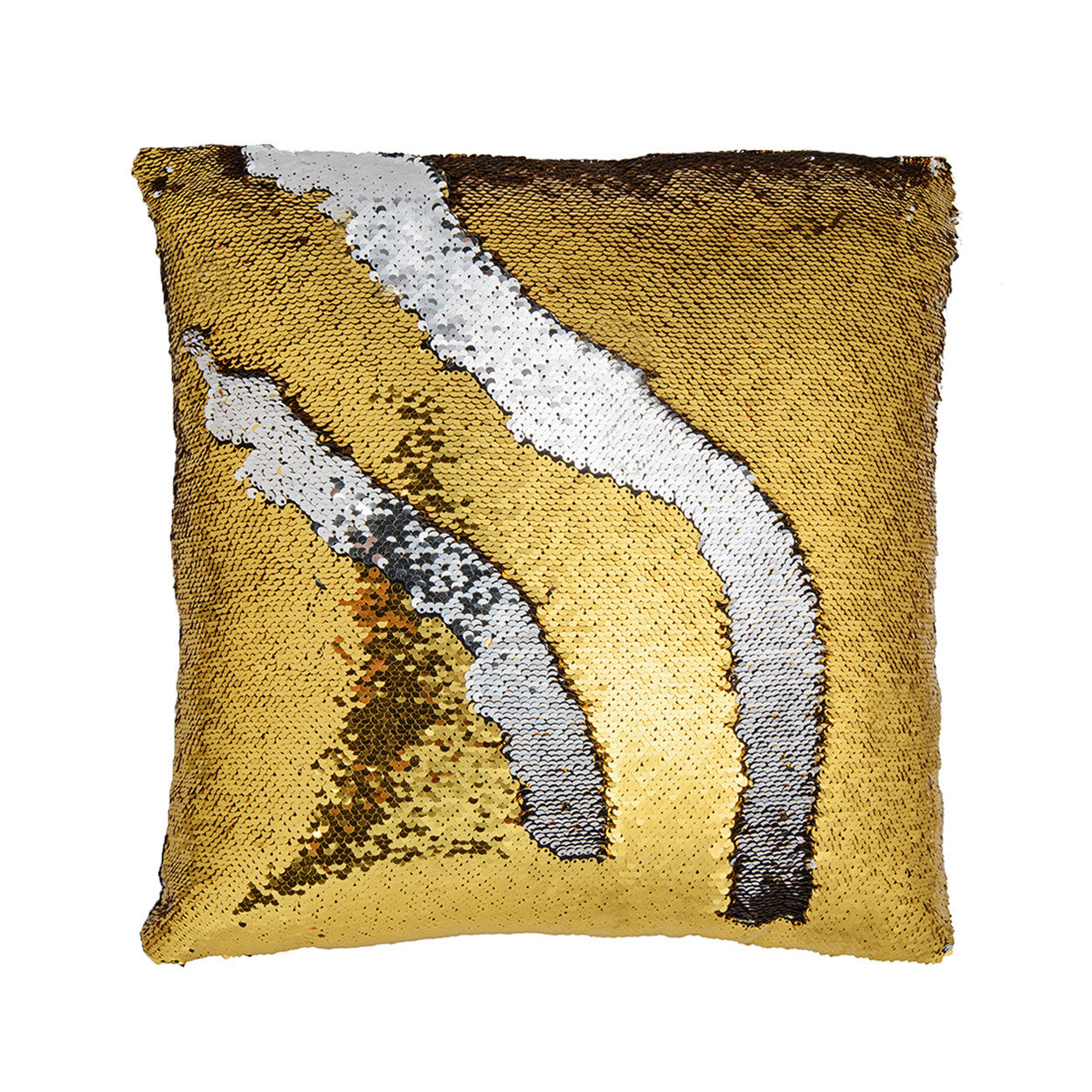 gold and silver mermaid color changing pillow - Color Changing Pillow