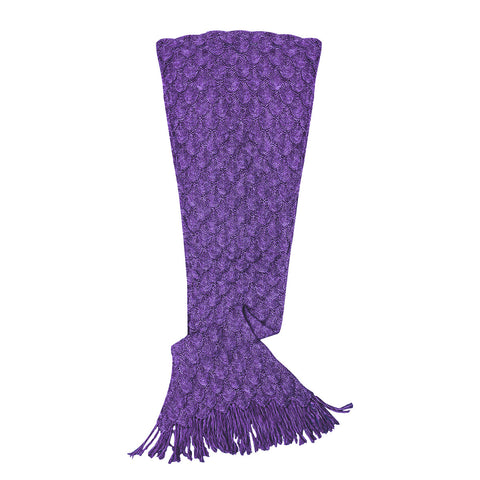 Mermaid Blanket Purple Women