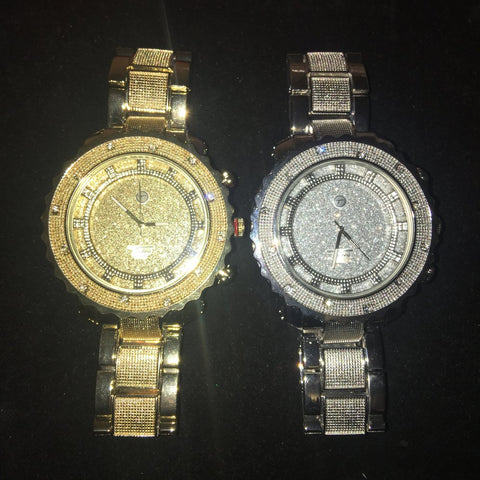 Gold or Silver Glitter watch