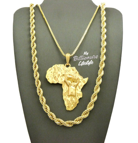 Africa / Rope Chain Set
