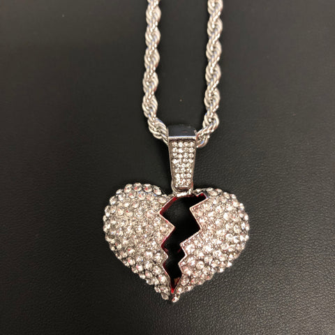 Silver Heartbreak chain