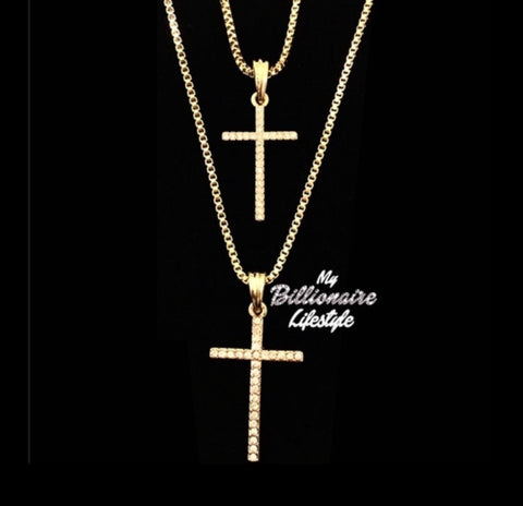 Double Thin Cross Set