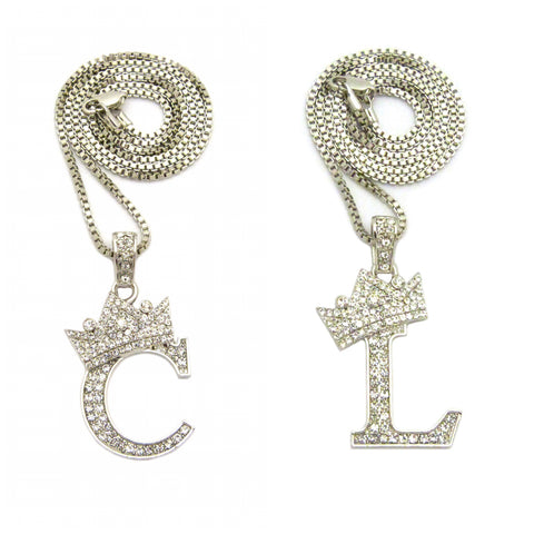Crown Letter Set F (Silver)