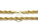 Gold Rope Chain (10mm)