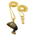Mini Nefertiti / Black and Gold Nefertiti Set