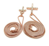 Cross / Ankh Set (Rose Gold)