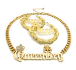 QueenBey Set (Gold)