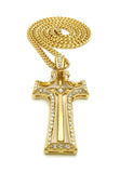 Angled Cross (Gold)