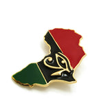 Africa Brooch (Eye of Horus)