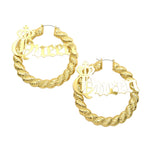 Queen Earring (Gold)