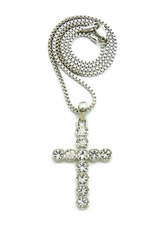 Round Cross (Silver)