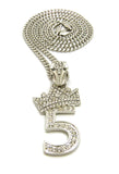 Crown Numbers (Silver)