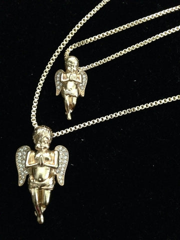 Double Praying Angel Set
