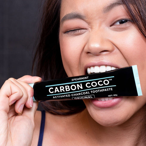 Activated Charcoal Toothpaste fluoride free - Duo Pack