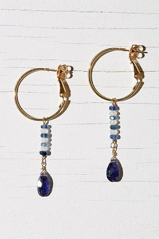 NATA HOOP EARRINGS