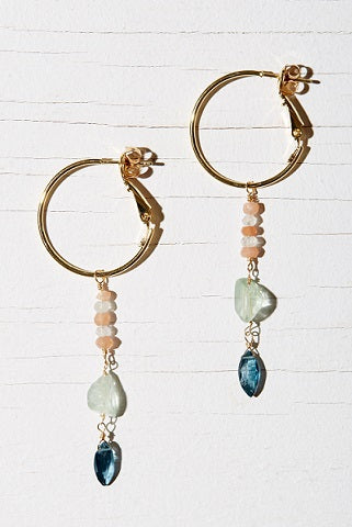 SAMOS HOOP EARRINGS