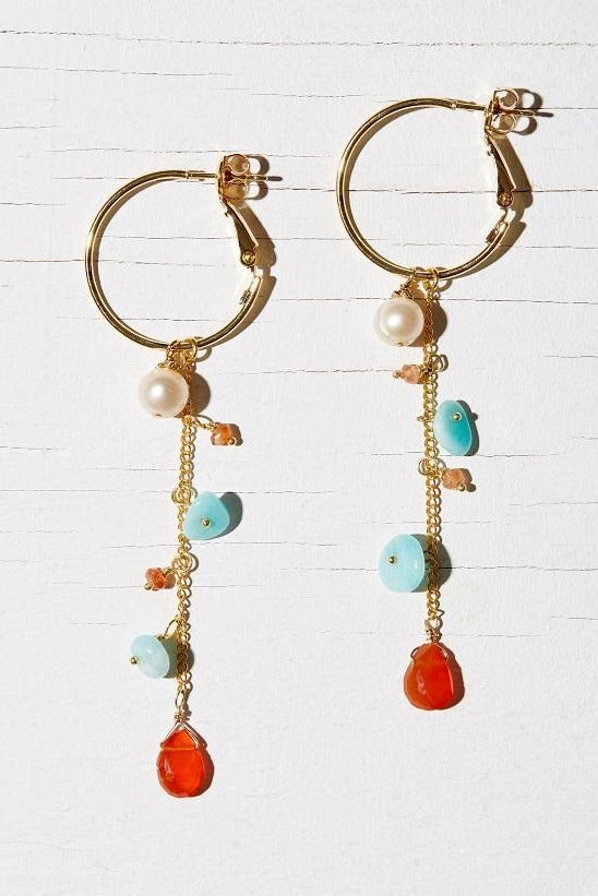 ASTRID HOOP EARRINGS