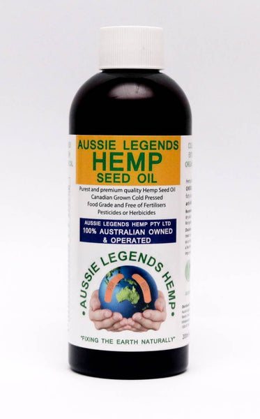 """NEW""   HEMP SEED OIL   200ml Food Grade   ""NEW""   (Includes Shipping)"