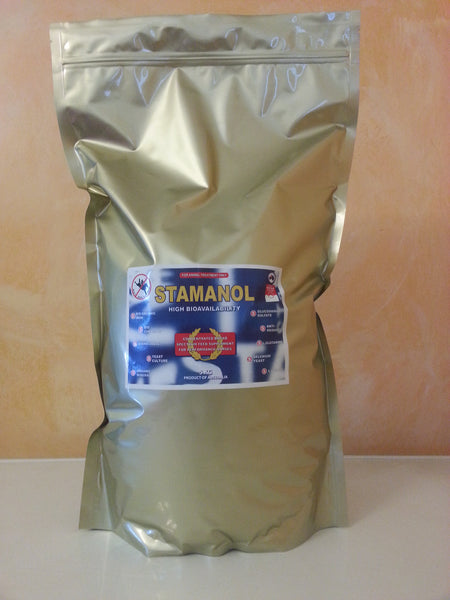 STAMANOL 4.9kg bag pack (includes Aust Post shipping)