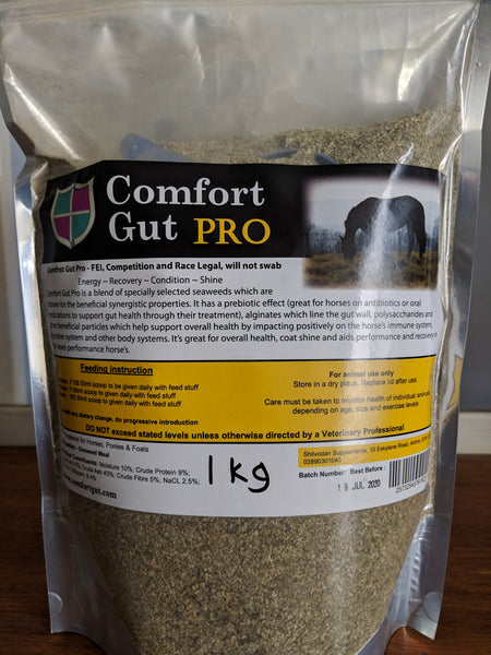 Comfort Gut Pro  1Kg and 3Kg  Free Aust post