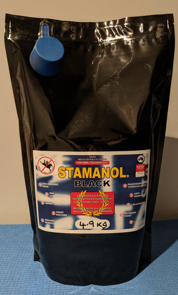 STAMANOL BLACK 4.9kg bag pack (inc Aust Post shipping)