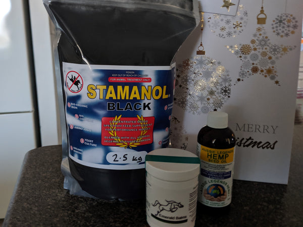 Stamanol Black Gift Pack