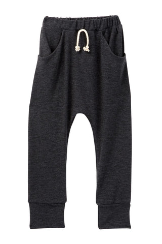 Charcoal Pocket French Terry Jogger Pants