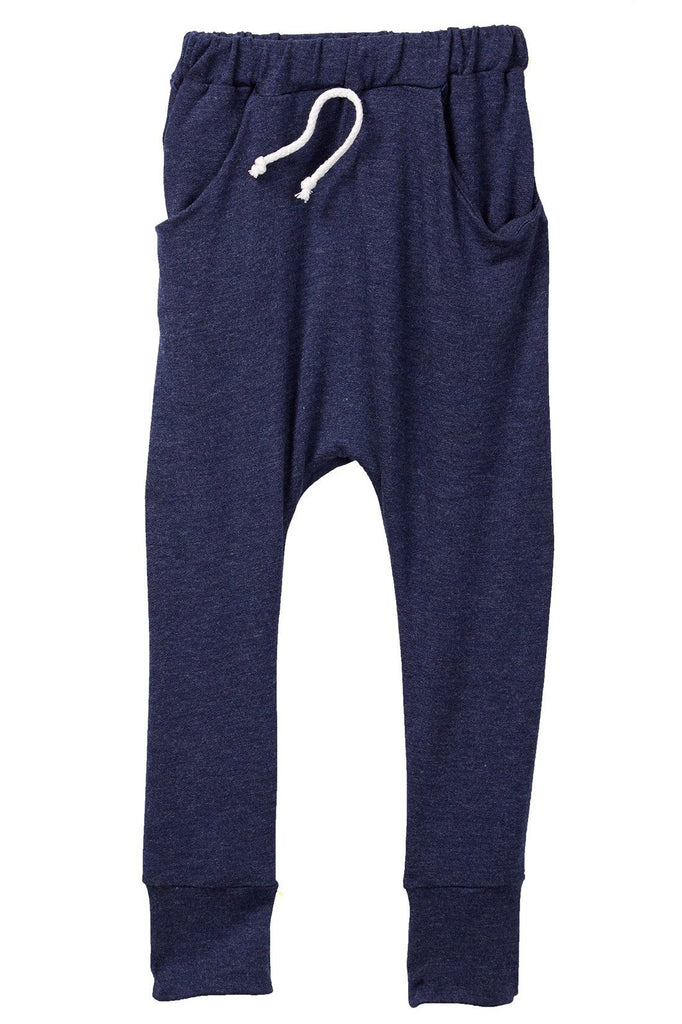 Indigo Pocket French Terry Jogger Pants