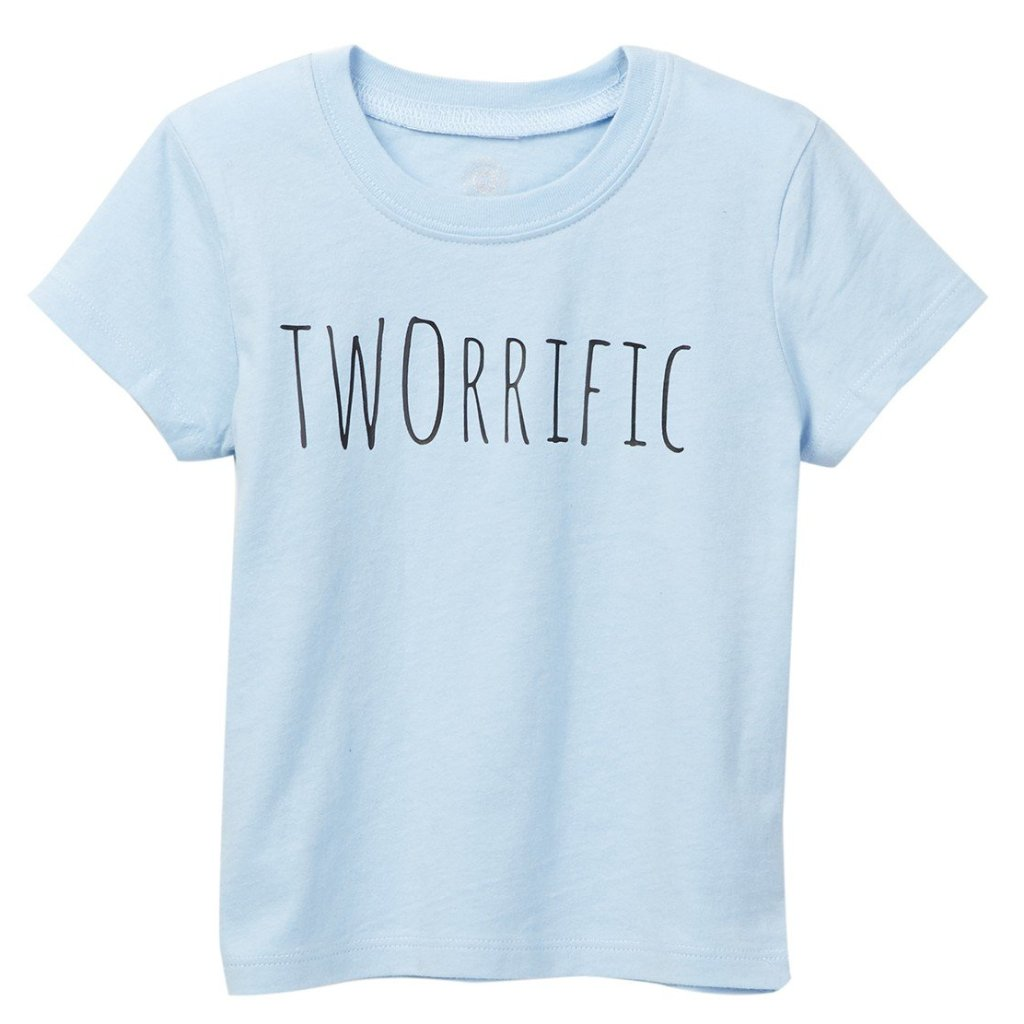 Tworiffic Blue Tee