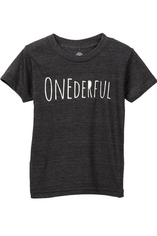 Onederful Celebratory Short Sleeve Tee