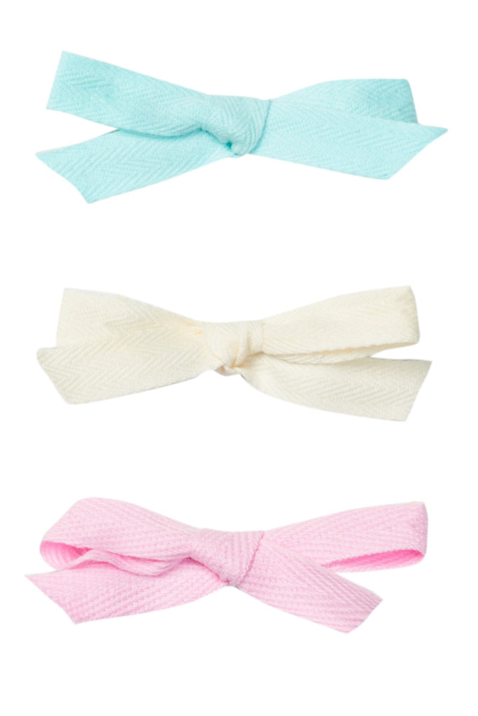 Sherbert Twill Set (Headband or Clip option)