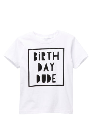 Birthday Dude Short Sleeve Tee