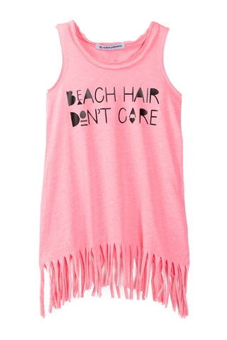 Beach Hair Don't Care Fringe Dress
