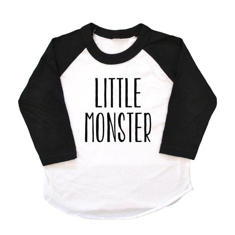 Little Monster Raglan Tee