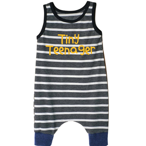Tiny Teenager Tank Shorts Romper